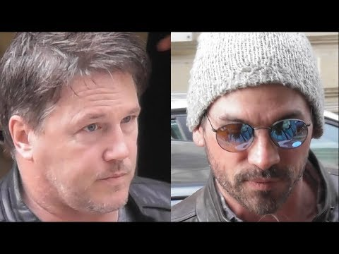 Lochlyn MUNRO & Skeet ULRICH  Riverdale @ Paris 31 march 2018  mars