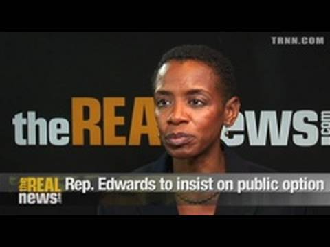 Rep. Edwards to insist on public option