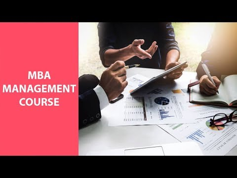MBA, management course