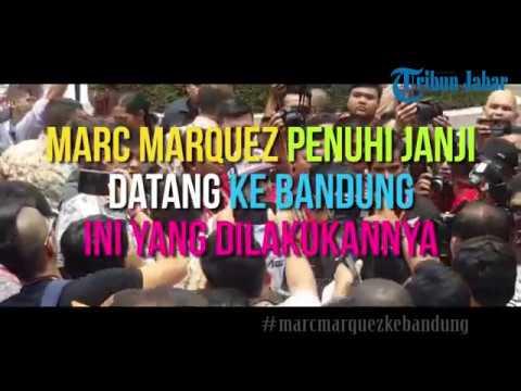 Serunya, Marc Marquez si Juara Dunia Moto GP Sapa Penggemar di Bandung Mp3