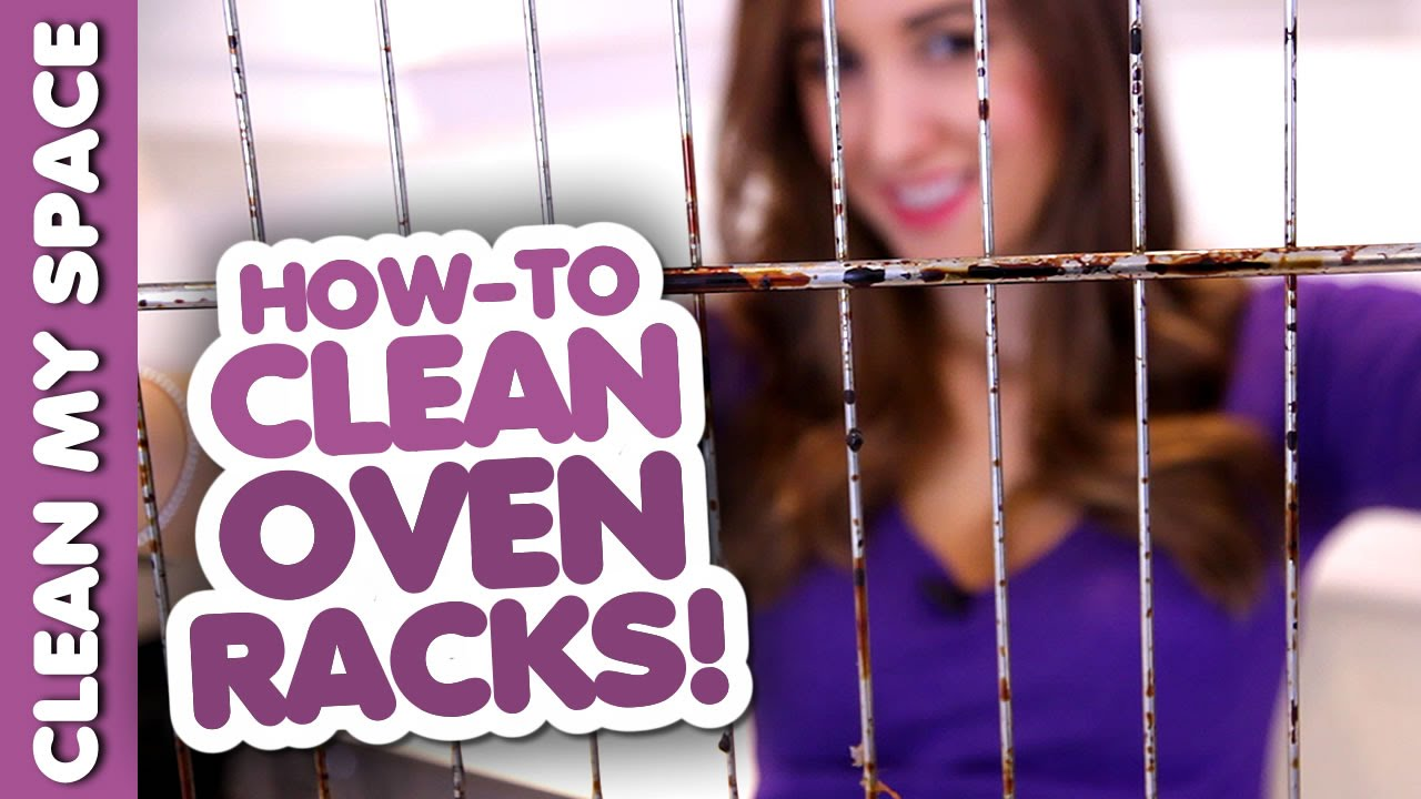 How To Clean Oven Racks Clean My Space Youtube