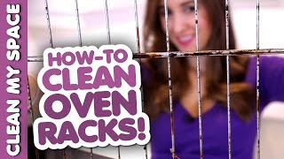 How to Clean Oven Racks! Kitchen Cleaning Ideas (Clean My Space)(Subscribe for a Cleaner Life! http://bit.ly/CleanMySpaceYT Follow us on Instagram: Melissa: http://instagram.com/MelissaMaker Chad: ..., 2015-02-28T18:23:46.000Z)