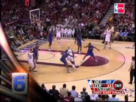 LeBron James Top 10 2007 Playoffs Plays