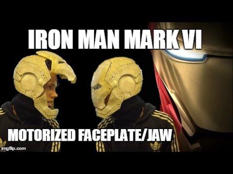 how to make iron man helmet motorized