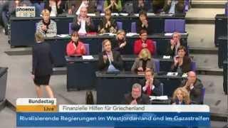 Griechenlandhilfe - Rede von Sahra Wagenknecht (Die Linke) am 30.11.2012