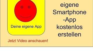 eigene app erstellen kostenlos