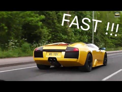 Ariel Atom Vs Lamborghini Murcielago W/ SuperCar Convoy !!!