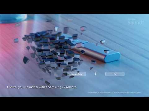 Samsung Soundbar Sound+: la vera forma del suono.