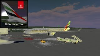 CABIN CREW | Emirates Airlines - B77X | ROBLOX