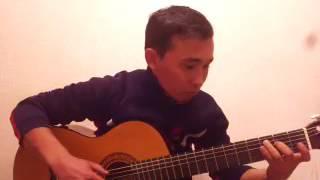 Сумерки мелодия на гитаре