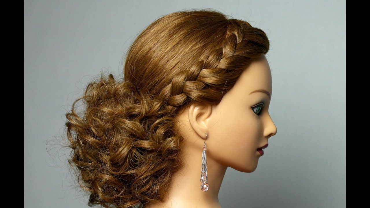 23 Romantic Wedding Hairstyles For Long Hair: Romantic Hairstyle For Long Hair With Braids.
