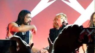 Metallica W Marianne Faithfull The Memory Remains Live In San Francisco December 7th 2011