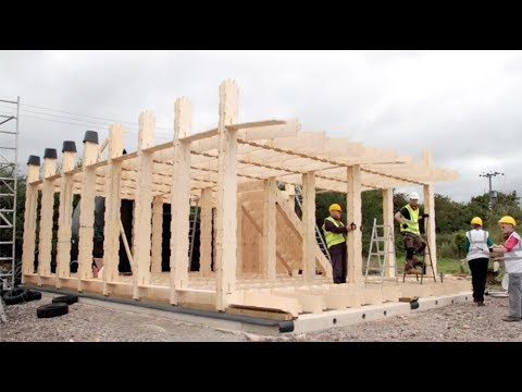 How Was It Made Building A Plywood House Youtube