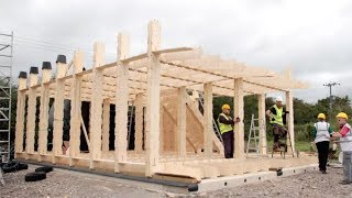 How was it made? Building a plywood house