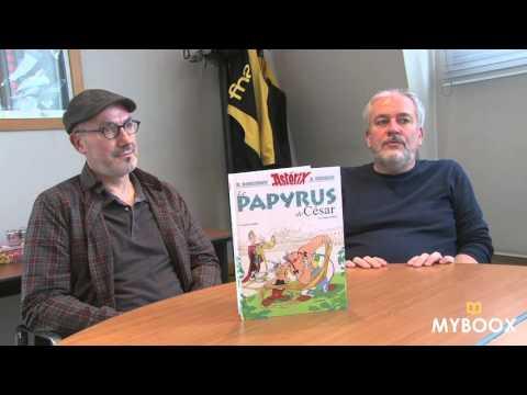 Une journée avec Le Papyrus de César, nouvel album d'Astérix !