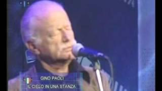 """""""Il cielo in una stanza"""". Gino Paoli.  (Live)."""