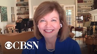 Former debate moderator Susan Page responds to new mute feature at tonight's debate