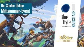 Die Siedler Online: Mittsommernacht Special - Blue Byte Backstage [DE]