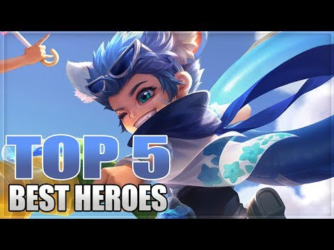 2019 TOP 5 BEST HEROES IN MOBILE LEGENDS