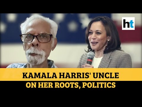 US polls: Kamala Harris' uncle on her Indian roots, views on Kashmir, CAA