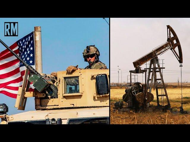 Kurds Help US Steal Syrian Oil