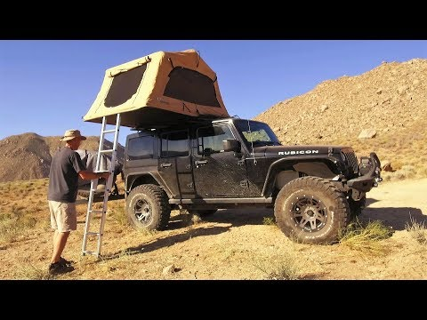 Jeep Wrangler JKU Overland Adventure and Off Road Tour of Death Valley
