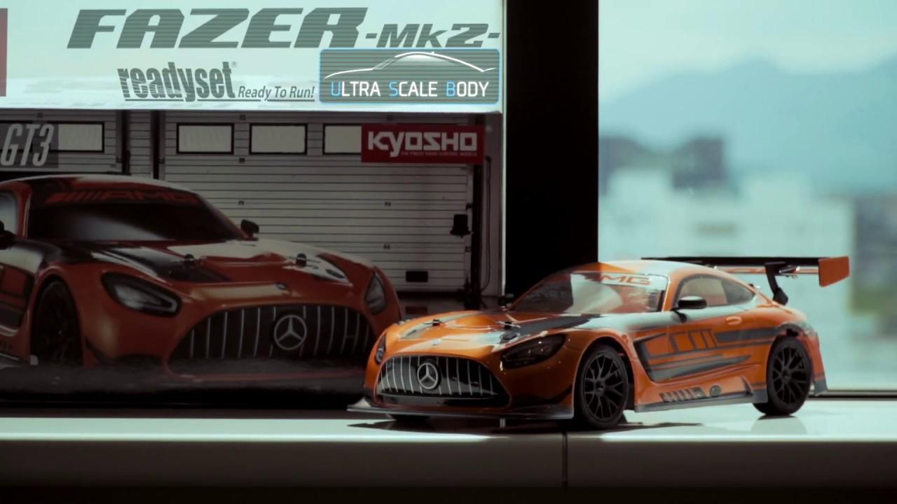 KYOSHO FAZER Mk2 FZ02 Series readyset 2020 Mercedes-AMG GT3