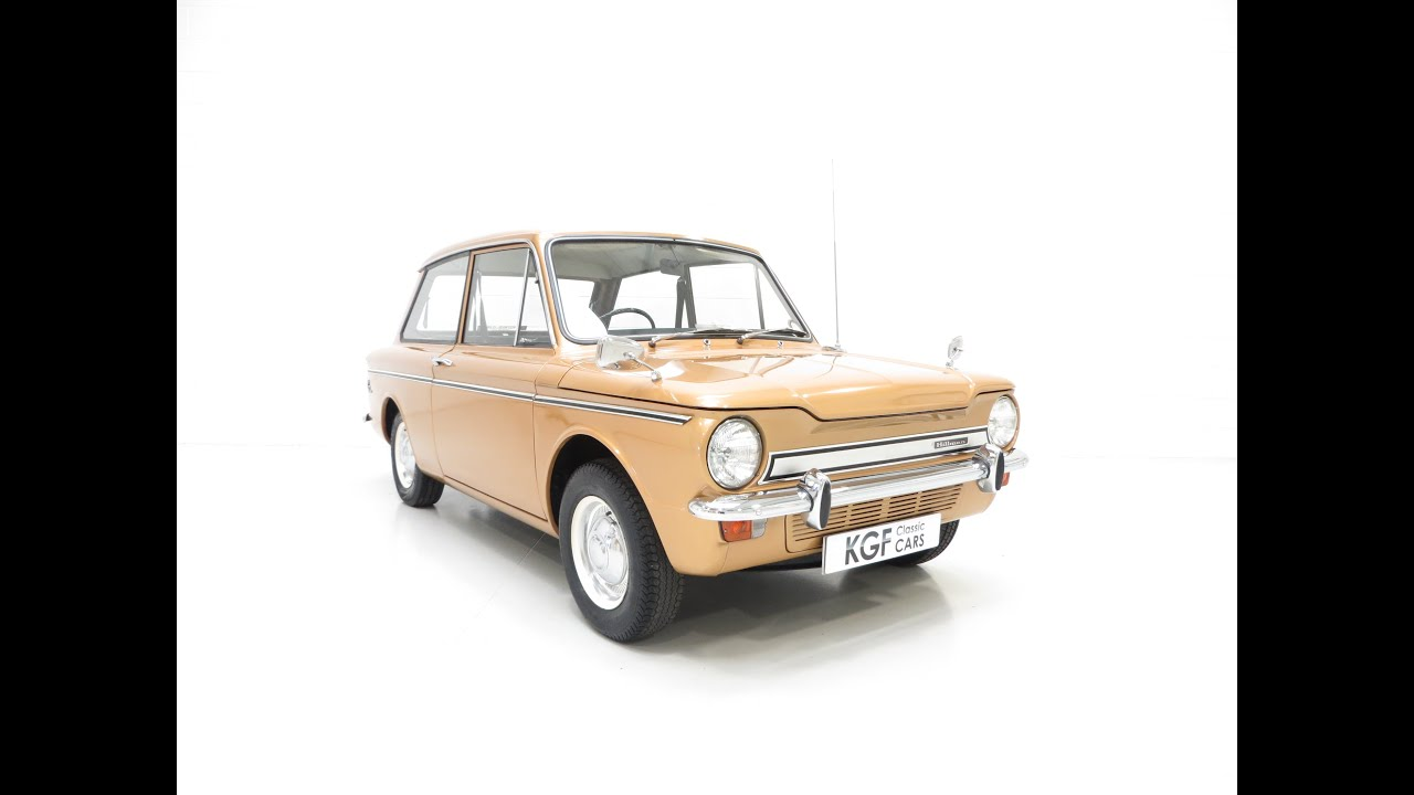A Cheeky Hillman Super Imp with Three Owners and Just 29,631 Miles ...