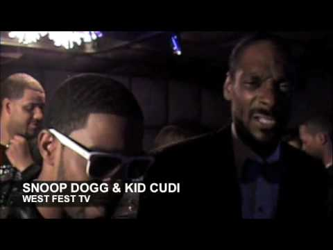 Kid Cudi and Snoop Dogg,  of Dogg After Dark