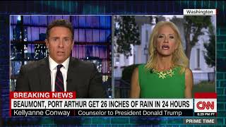Kellyanne Conway spars with Cuomo over Hurricane Harvey (full interview)
