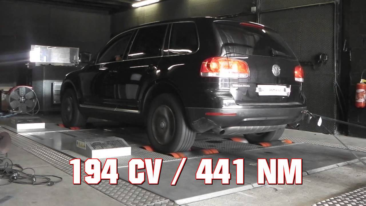 reprogrammation moteur volkswagen touareg 2 5l tdi youtube. Black Bedroom Furniture Sets. Home Design Ideas