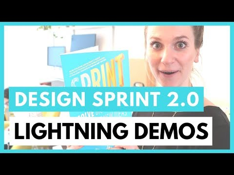 DESIGN SPRINT 2.0 MONDAY - LIGHTNING DEMO - AJ&Smart