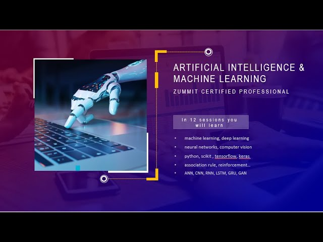 Artificial Intelligence and Machine Learning - Chapter 1/12
