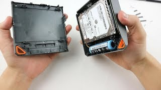 Replace HDD in Lacie Fuel with SSD drive - Test and result