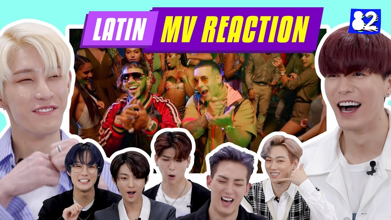 KPOP IDOLS REACT TO FAMOUS LATIN MV ROSALA Daddy Yankee Ozuna Jbalvin