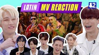 KPOP IDOLS REACT TO FAMOUS LATIN MV (ROSALÍA, Daddy Yankee, Ozuna, J.balvin)