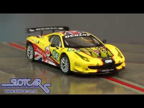 Carrera Slot Car Ferrari 458 GT2 JMW 66 Slotcar 27399