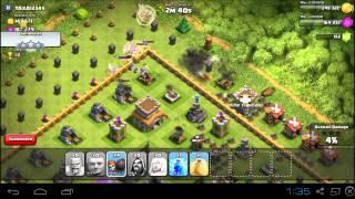 Clash of Clans | Town hall level 6 Raiding strategy (half a million resource Raid)