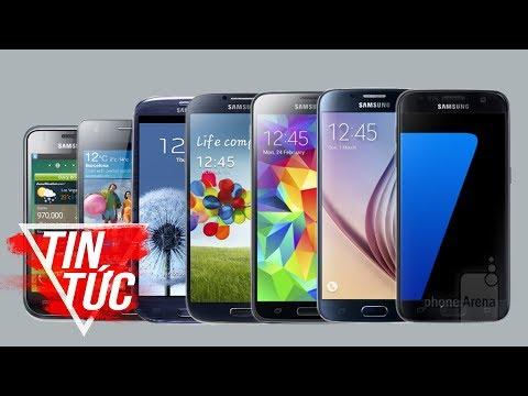 FPT Shop - Nhìn lại các dòng Galaxy S từ trước đến nay