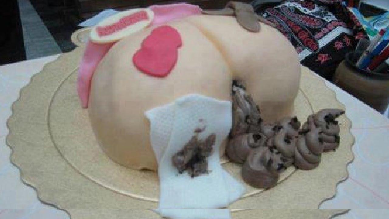 happy 40th birthday party funny naughty cake decoration ... |Funny Women Cake Ideas