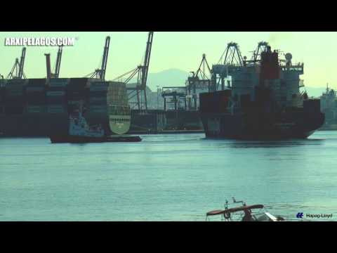LISBON EXPRESS - (Container Ship) Departure from PCT  IMO: 9108128