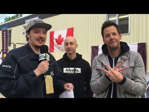 Simple Plan Interview at Stars & Thunder in Timmins, Ontario, Canada