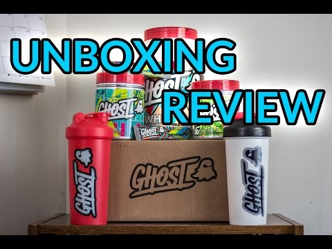 UNBOXING REVIEW // Ghost Lifestyle Protein, Pre-Workout, and Amino Acids