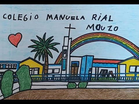 A rapazada do Manuela Rial fai un canto de solidariedade
