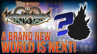 A BRAND NEW DISNEY WORLD Is Coming to Kingdom Hearts Union X!