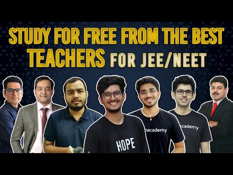 STUDY FOR FREE From the BEST Teachers For JEE/NEET ❤️ | Optimize JEE/NEET Preparation | Harman Singh