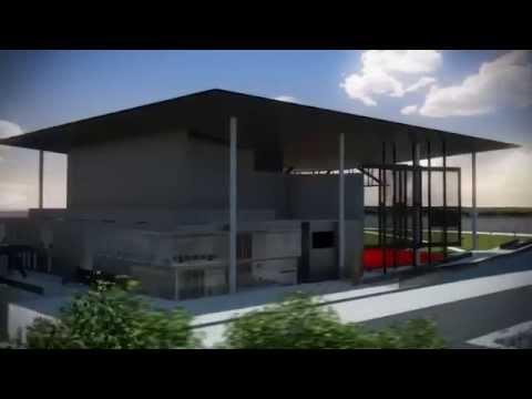 Amphithéâtre de Trois-Rivières en 3D