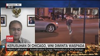 Kerusuhan di Chicago, WNI Diminta Waspada