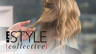 Celeb Hairstylist Kristin Ess Demos Modern Waves Two Ways   E! Style Collective   E! News