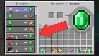 Minecraft 1 14 4 Pre 2 Villager Trading Buffed Mojang is watching! YouTube